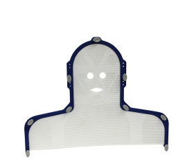 Aquaplast RT™ Open Eye & Mouth, Head & Shoulder Portrait™ S-frame, 3.2 mm