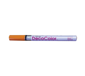 DecoColor™ Opaque Paint Markers, Fine Line, Orange