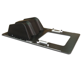 Qfix(r) Pelvis Immobilization Board (includes integrated indexed Knee Wedge)