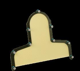 Fibreplast®, Portrait™ S-frame Head & Shoulder with Integrated Shim™, 2.4 mm