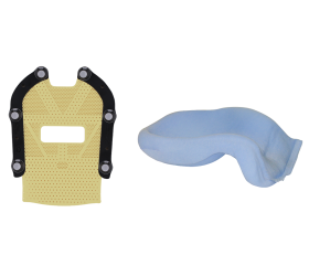 Encompass™ SRS Fibreplast® anterior mask